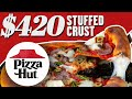 $420 Pizza Hut Stuffed Crust Pizza | Fancy Fast Food | Mythical Kitchen