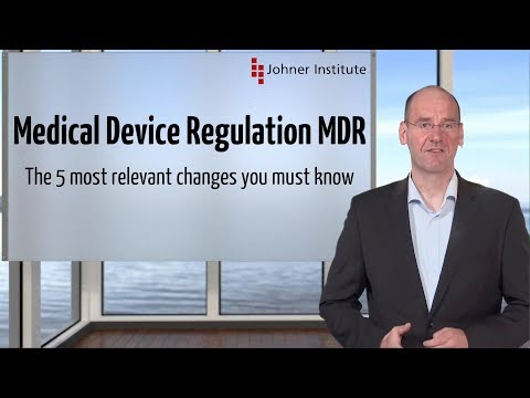 The 5 most relevant changes the Medical Device Regulation MDR introduces, that  you must know