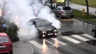 BMW palenie ... ale nie gumy 2017 Video