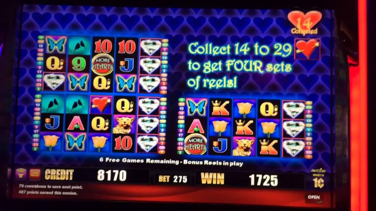 More hearts slots free