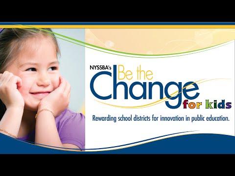 2014 Be The Change For Kids Innovation Award Winner - Chenango Forks CSD