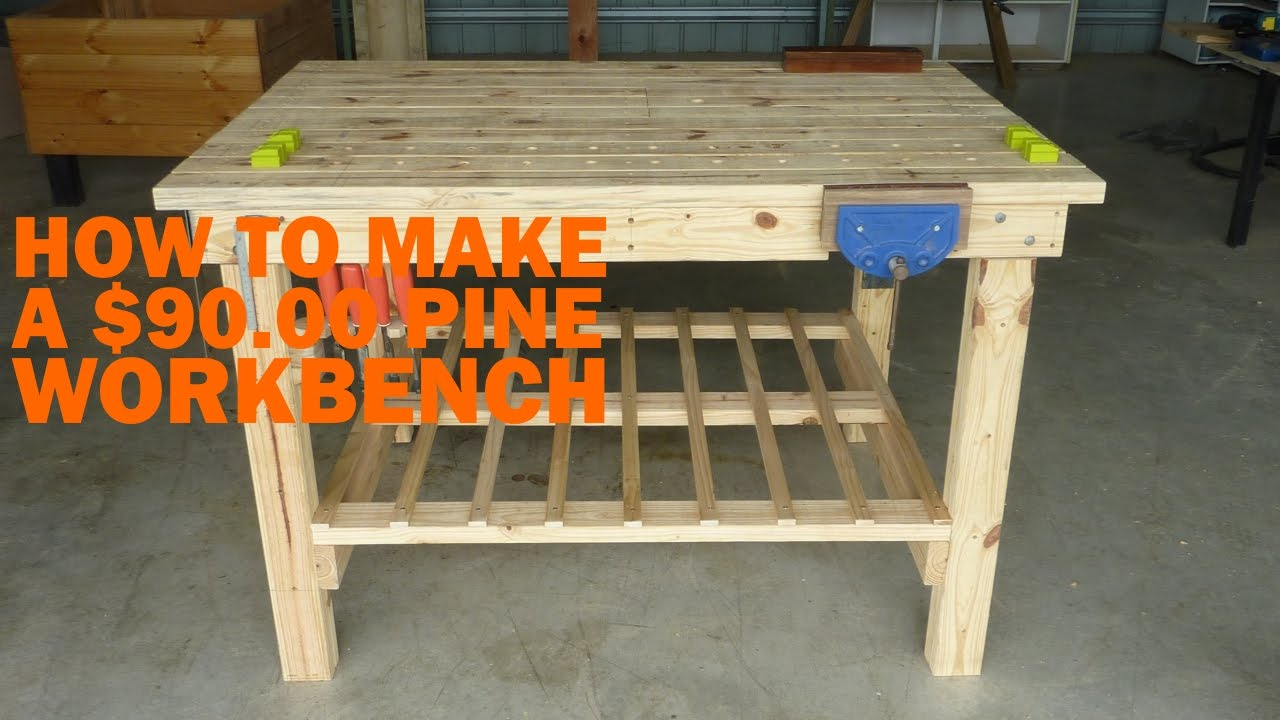 Download How to Make a $90 WorkBench Step by Step