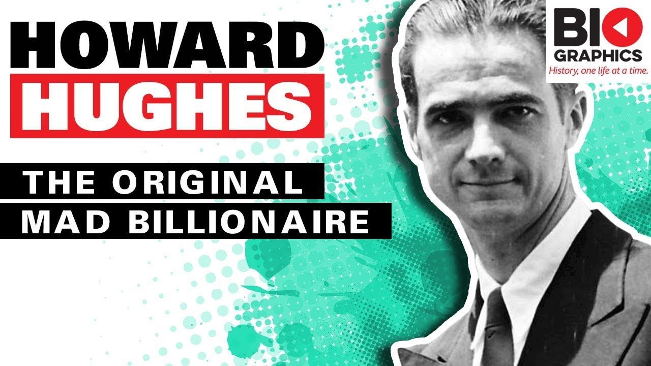 a biography of howard r hughes Today i found out what happened to billionaire howard hughes' money when he died  howard hughes biography howard  howard had three children the first four.