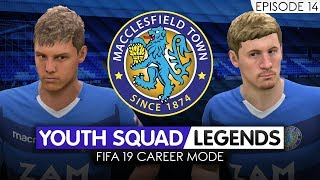 FIFA 19 CAREER MODE (Ep 14) | Macclesfield RTG | Youth Academy [YOUTH SQUAD LEGENDS] - SEASON TWO!