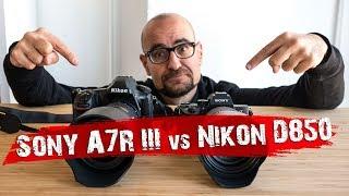 Sony A7R III vs Nikon D850. ¡La comparativa del año!