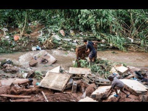 KZN Durban floods video 2
