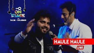 Salim Sulaiman - Haule Haule Live Ft. Vipul Mehta | Sulaiman Merchant | Raj Pandit | 9XM On Stage