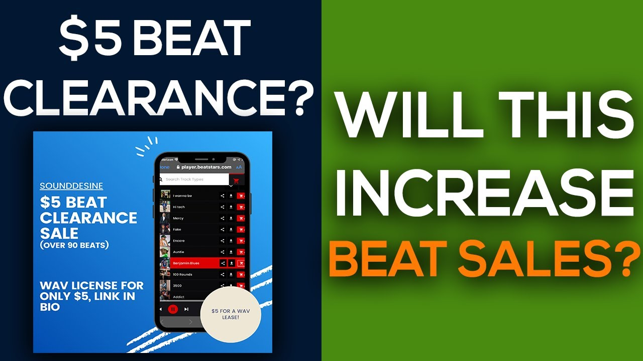 Putting Beats on Clearance? Selling Beats Online 2020