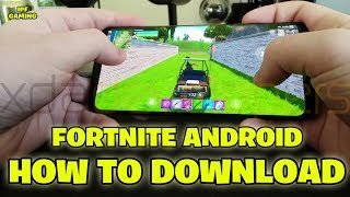 Fortnite Android Comment télécharger (Jeu officiel). Fortnite Gameplay par IPF Gaming