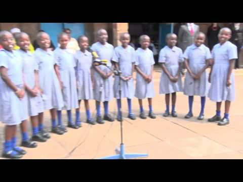 DigiSchool: Delivery of DLP Devices at Musa Gitau Primary School, Nairobi