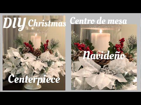 Decoración navideña 2018 /centro de mesa
