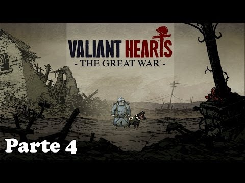 Valiant Hearts The Great War Walkthrough Parte 4 - Español (Gameplay Let's Play)