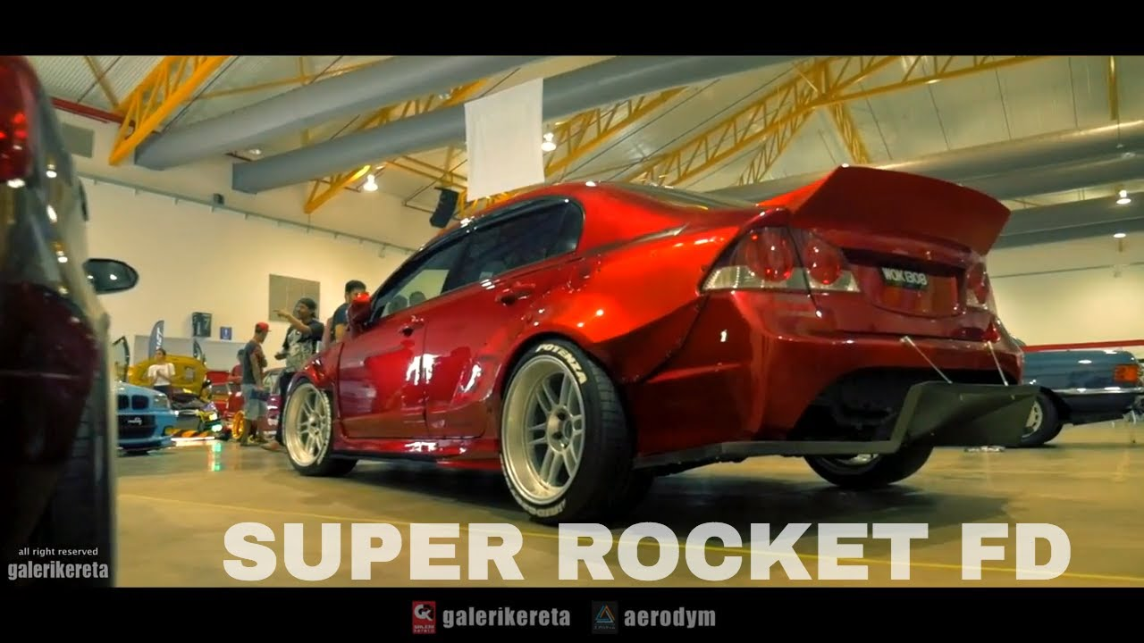 Civic Fd Super Rocket Candy Red Finishing At Art Of Speed 2017