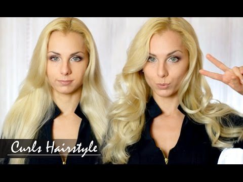 How To Curl Your Hair / Как сделать КРУПНЫЕ ЛОКОНЫ / Victoria's Secret Sexy HairStyle tutorial