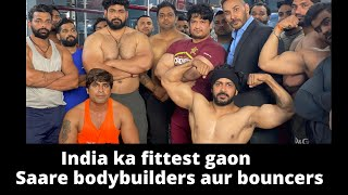 India ka fittest gaon | Fatehpur Asola | Saare bodybuilders aur bouncers | Tarun Gill Talks