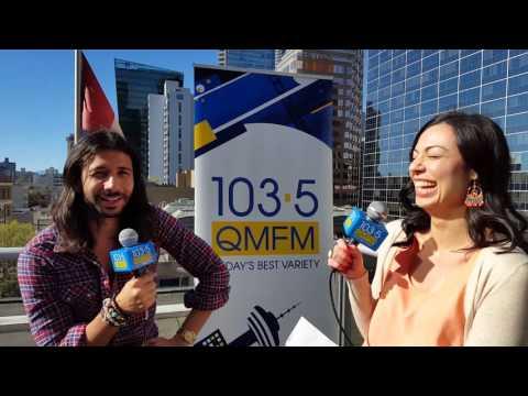 Nasri from Magic! Interview at 103.5 QMFM