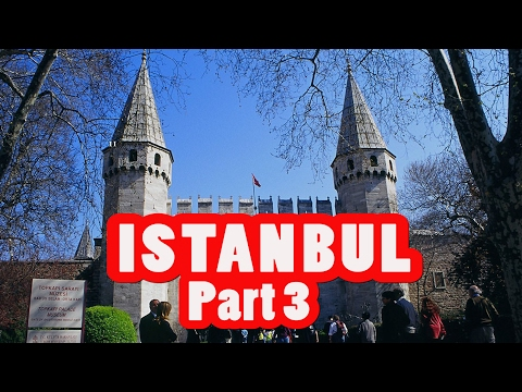 AMAZING ISTANBUL TRAVEL GUIDE VLOG #3 TOPKAPI PALACE AND THE HAREM