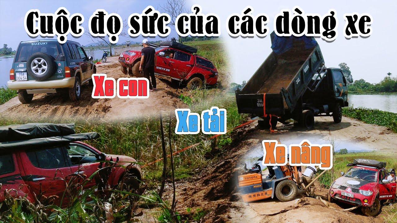 Cả làng tập trung giải cứu xe Tùng Nếm chiều 30 tết - Dòng xe nào mạnh nhất ?