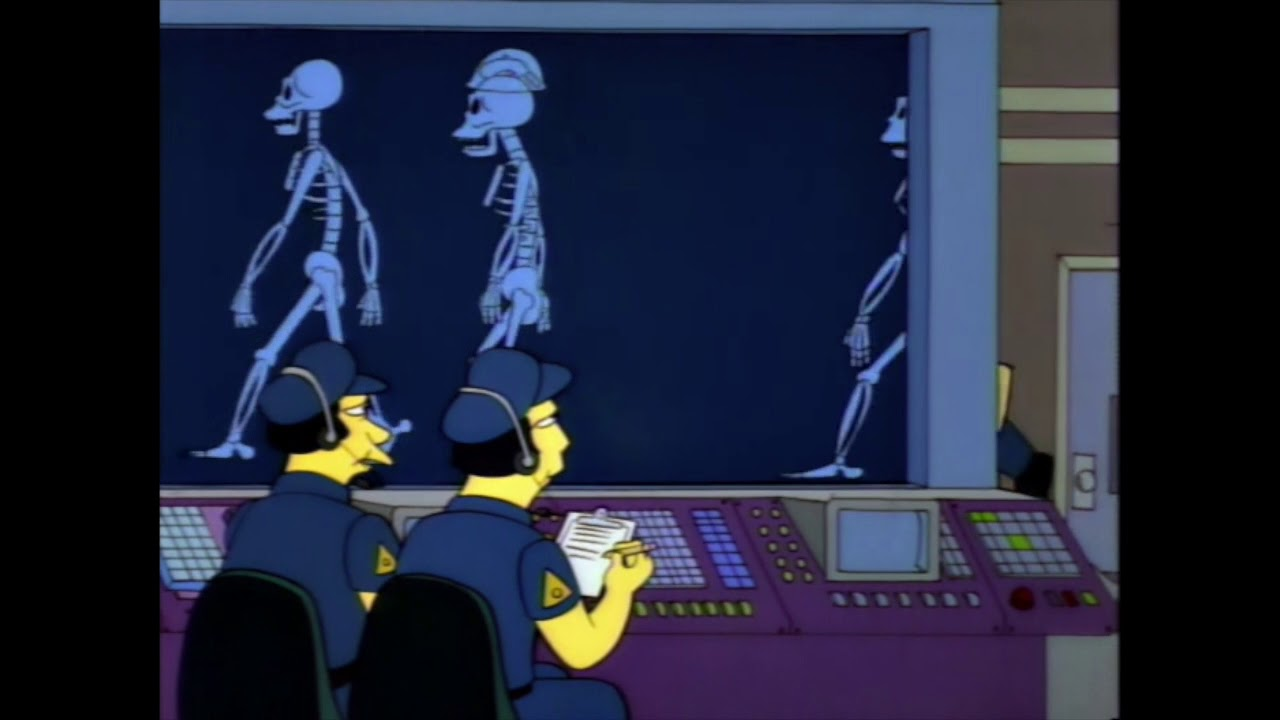 Homer Simpson Xray