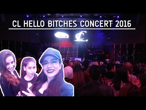 CL - HELLO BITCHES CONCERT Toronto - Vlog