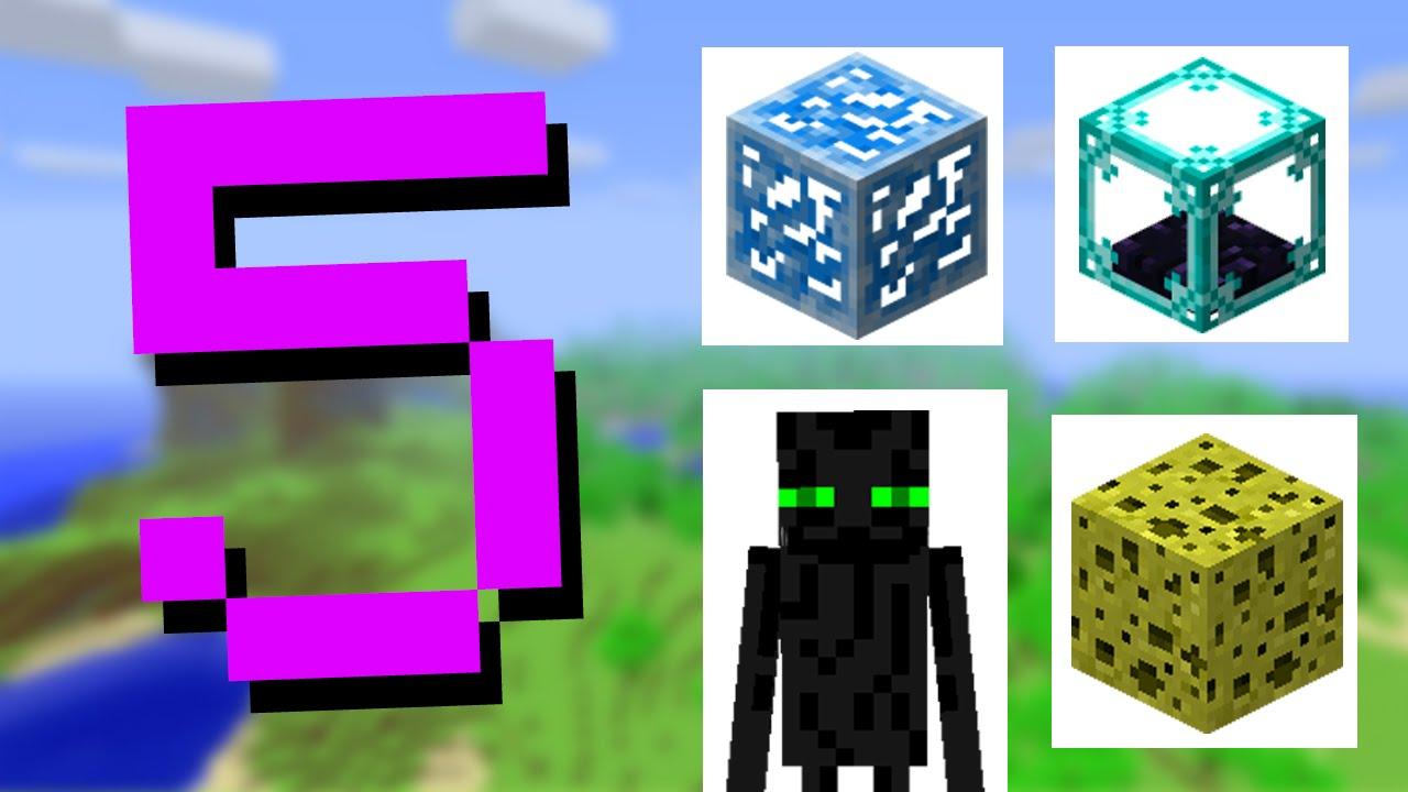 Minecraft: 5 Textures That Were Changed - YouTube
