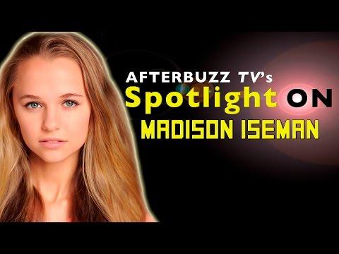 Madison Iseman   AfterBuzz TV's Spotlight On