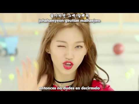 I.O.I - Very Very Very (너무너무너무) MV [Sub Español + Hangul + Rom] HD