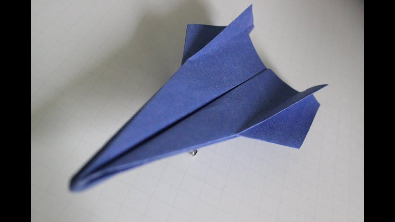 Como Hacer Un Avion De Papel Que Vuela Mucho Aviones De Papel Origami Avión Inteligente Youtube