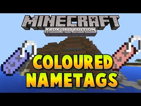 Minecraft Xbox One Ps4 How To Get Coloured Name Tags