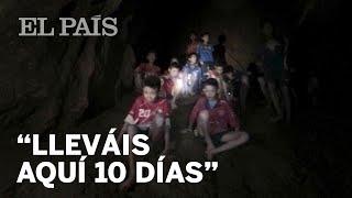 Así fue el encuentro de los rescatadores con los niños de la cueva de Tailandia | Internacional