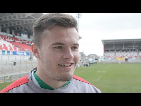 Jacob Stockdale on the dream Six Nations