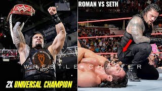 Roman Reigns Wins 2X Universal Title From Seth Roman Reigns Vs Seth Rollins Universal Championship