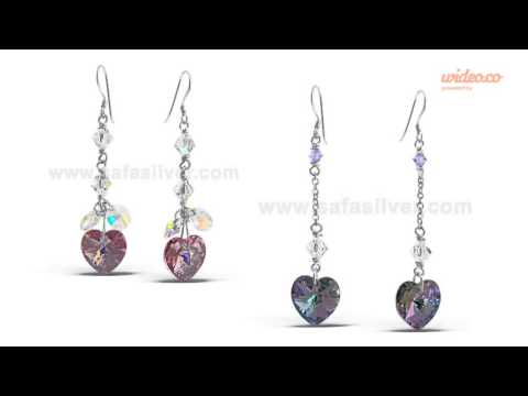 Swarovski Silver Jewelry by Safasilver.com - Wholesale Silver Jewelry