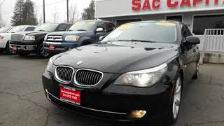 2008 BMW 535i * Sports Pkg * Navigation * Low Miles * Luxur for sale in SACRAMENTO, CA