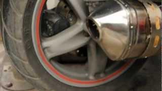 Piaggio X9 250 AKROPOVIC EGZOZ