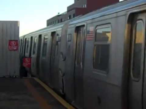 MTA BMT Astoria Line: Southbound R160B Siemens (Q) Train Arriving At 39th Avenue-Beebe Avenue