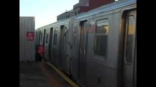 MTA BMT Astoria Line: Manhattan Bound R160B Siemens (Q) Train Arriving At 39th Avenue-Beebe Avenue