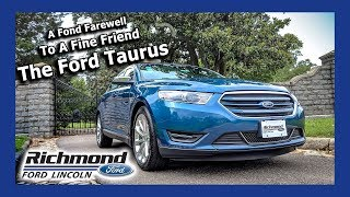2018 Ford Taurus Review: One Last Drive