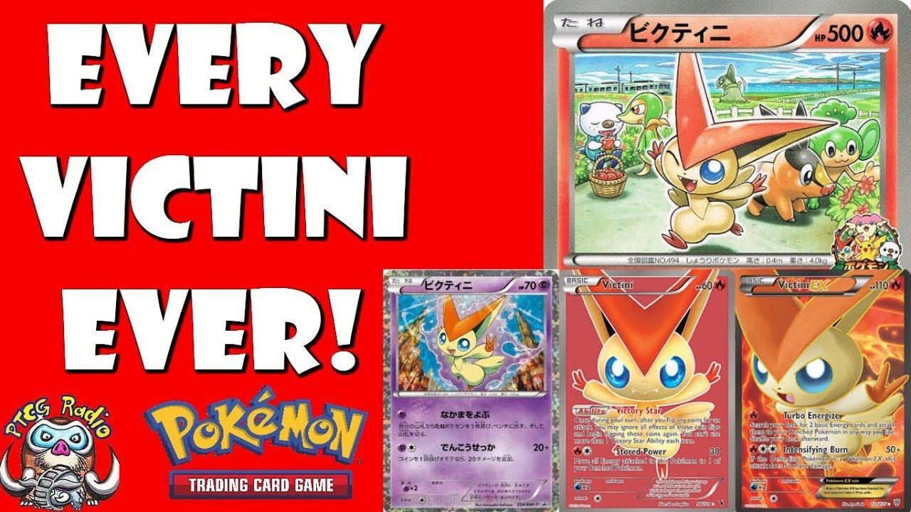 Is Victini Good In The Pokémon Tcg Every Pokémon Card Ever Youtube