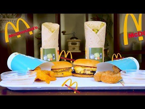 ПОВТОРЯЮ МЕНЮ McDonald's