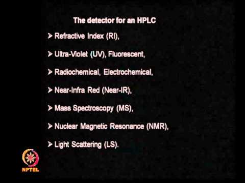 Mod-01 Lec-27 Chromatography (continued)