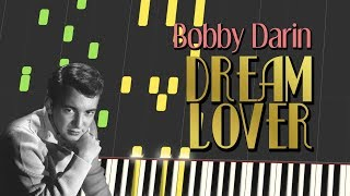 Bobby Darin - DREAM LOVER (Piano Tutorial)