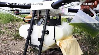 PT. PRATAMA NUSANTARA SAKTI - Training Drone DJI Agras MG-1. No Back Song 2017