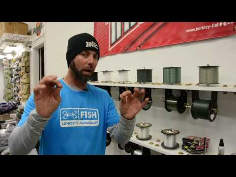 Ike In The Shop: Types Of Fishing Line