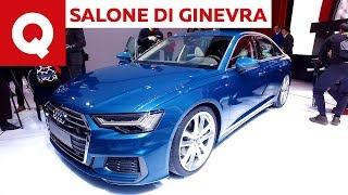 """Nuova Audi A6: una A8 in """"miniatura"""" al Salone di Ginevra 2018   Quattroruote"""