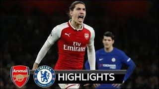 Arsenal 2-2 Chelsea - All Goals & Extended Highlights - 03/01/2017 HD