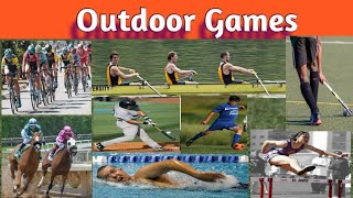 Outdoor Games Name In Hindi And English।outdoor Games Name।name Of Outdoor Games।name Of Sports।