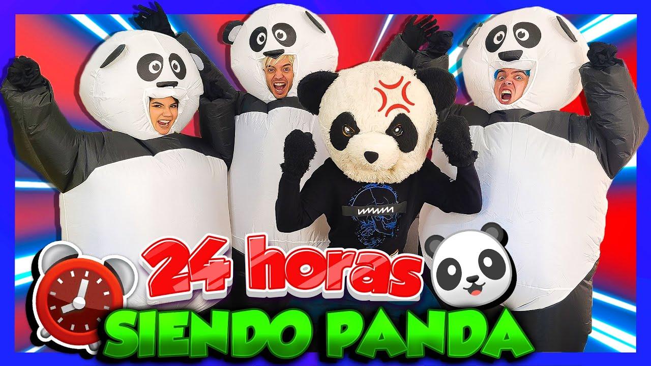 IMITANDO A PANDA POR 24 HORAS - Yolo Aventuras