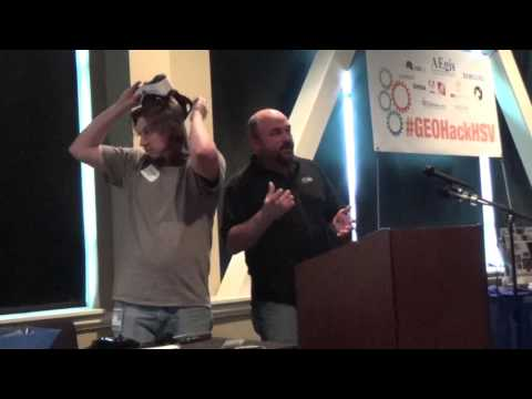 NGA Hackathon: Virtual Reality GIS Display Team