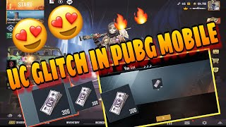 uC Glitch in PUBG Mobile 0.15 latest glitch  HURRY UP 200 300 500 UC GLITCH